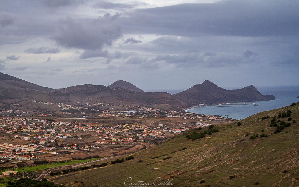 Vista sobre a Ilha de Porto Santo - Espigão dos Morenos